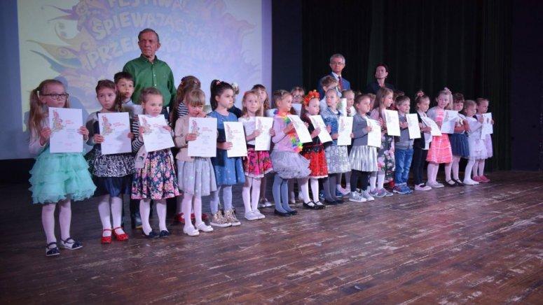 XXI śpiewanie przedszkolaków