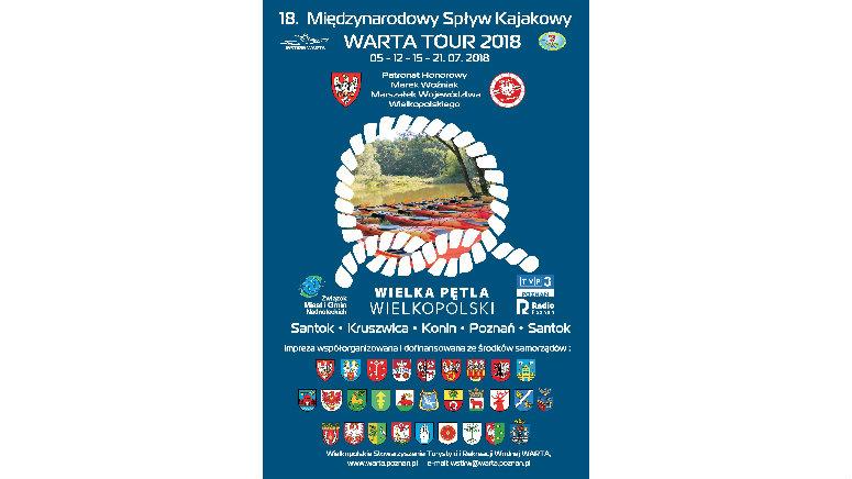 18 Międzynarodowy Spływ Kajakowy WARTA TOUR 2018