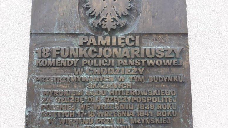 Pamięci pomordowanych policjantów