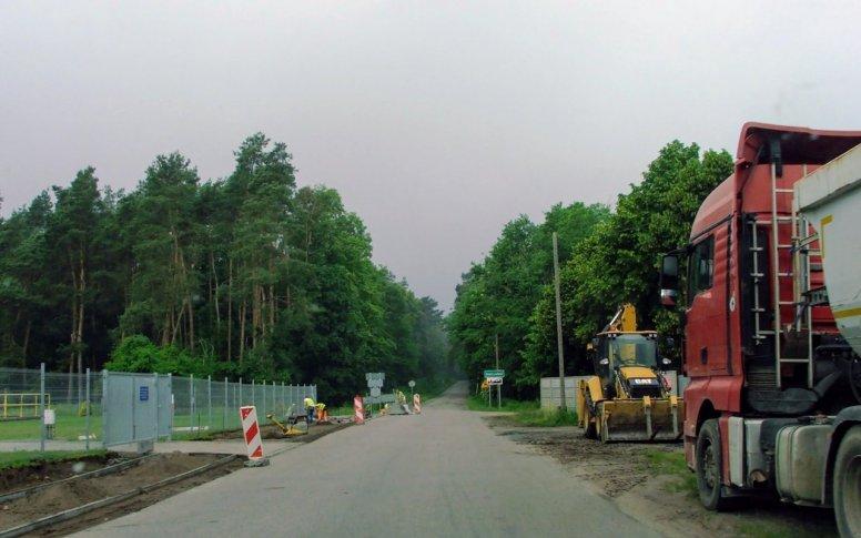 Ścieżka w budowie